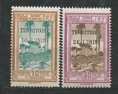ININI  TAXE  N°  2+5  **  TB - Inini (1932-1947)
