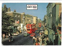 Inghilterra England London King's Road, Chelsea Viaggiata 1975 Condizioni Come Da Scansione - London