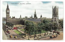 Inghilterra England London Parliament Square Viaggiata 1958 Condizioni Come Da Scansione - London