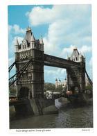 Inghilterra England Tower Bridge And The Tower Of London Non Viaggiata Condizioni Come Da Scansione - Tower Of London