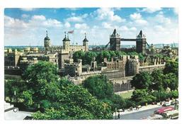 Inghilterra England London Tower And Tower Bridge Viaggiata 1964 Condizioni Come Da Scansione - Tower Of London