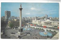 Inghilterra England London Trafalgar Square Viaggiata 1975 Condizioni Come Da Scansione - Trafalgar Square