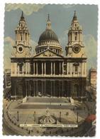 Inghilterra England London St. Paul's Cathedral West Front Viaggiata 1958 Condizioni Come Da Scansione - London