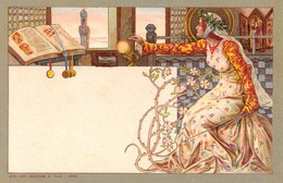 """1170 """"SIENA SECOLO XV  -PREMIATA FABBRICA PIANOFORTI - GIOVANNI PARENTI- ESPORTAZIONE MONDIALE"""" ANIMATA. CART NON SPED - Advertising"""