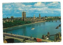 Inghilterra England London Houses Of Parliament Viaggiata 1961 Condizioni Come Da Scansione - Houses Of Parliament