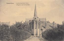 Mortsel Oude-God Achterkant Der Kek/ Vieux-Dieu L'Eglise Vue De Derrière - Mortsel