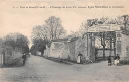 Forêt De SENART - L'Ermitage De Lous XV, Ancienne église Notre-Dame De Consolation - Sénart
