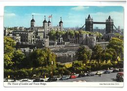 Inghilterra England The Tower Of London And Tower Bridge Viaggiata 1972 Condizioni Come Da Scansione - Tower Of London