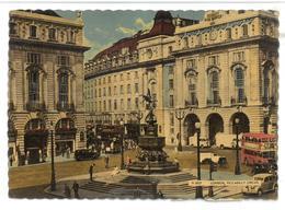 Inghilterra England London Piccadilly Circus Viaggiata 1958 Condizioni Come Da Scansione - Piccadilly Circus