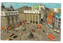 Inghilterra England London Piccadilly Circus Viaggiata 1973 Condizioni Come Da Scansione - Piccadilly Circus