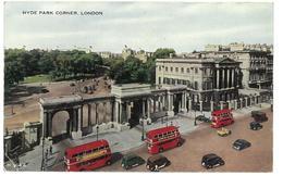 Inghilterra England London Hyde Park Corner Viaggiata 1958 Condizioni Come Da Scansione - London
