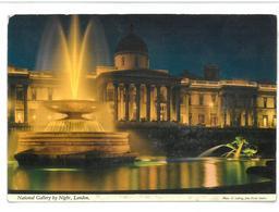 Inghilterra England London National Gallery By Night Non Viaggiata Condizioni Come Da Scansione - London