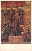 """1173 """"VENEZIA - X° ESPOSIZIONE NTERNAZIONALE D'ARTE DELLA CITTA' - 1912"""" ANIMATA. CART NON SPED - Exhibitions"""