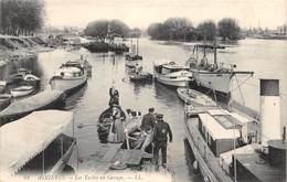 ASNIERES - Les Yachts Au Garage - Asnieres Sur Seine