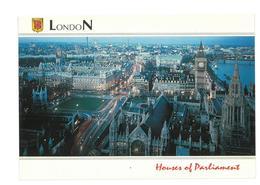 Inghilterra England London Houses Of Parliament 1999 Non Viaggiata Condizioni Come Da Scansione - Houses Of Parliament