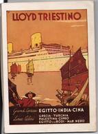 RITAGLIO A TUTTA PAGINA RIVISTA DEL 1936 - PUBBLICITA' LLOYD TRIESTINO CM 17 X 24 - Immagine Tagliata