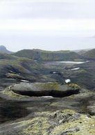 1 AK Island Jan Mayen - Zu Norwegen * Der Krater The Bowl * - Norway