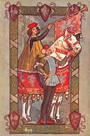 """1175 """"PERUGIA - MOSTRA D'ANTICA ARTE UMBRA 1907"""" ANIMATA, TIMBRO MOSTRA  CART  SPED 1912 - Exhibitions"""