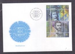 Estonia 2002 Re-introduction Of Kroon, 10th Anniversary FDC - Estonia