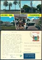"Suriname 1976 Ansichtkaart ""Greetings Of Paramaribo"" - Surinam"