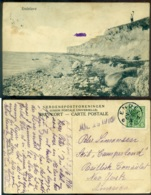 Denmark 1916 Postkart Endelave With Cancel Endelave - Danemark