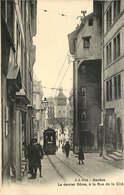 SUISSE  GENEVE  Le Dernier Dome A La Rue De La Cité - GE Ginevra