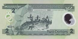 SOLOMON ISLANDS P. 23 2 D 2001 UNC - Salomons