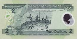SOLOMON ISLANDS P. 23 2 D 2001 UNC - Solomon Islands