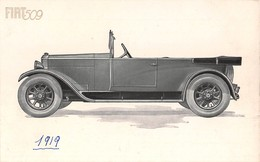 "1177 ""TORINO - FIAT 509 - 1919""  CART  NON SPED - Advertising"