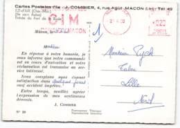 Ile D'Aix. Entrée Du Fort De La Rade.  Carte Bon De Commande.  J.COMBIER . CIM MACON - Otros Municipios