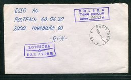 "Polen / 1990 / Brief Gebuehr Bezahlt-Stempel ""Taxe Perque"", Inflation ! (15093) - 1944-.... República"