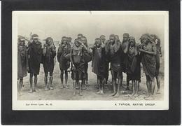 CPA Kenya Ethnic Afrique Noire Type Circulé - Kenya