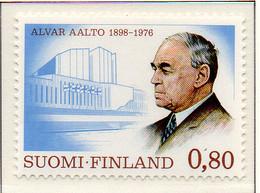 PIA - FINLANDIA - 1976 : Alvar Alto - Celebre Architetto - (Yv 760) - Architettura