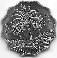 *irak 10 Fils 1981 Km 126a    Unc - Iraq