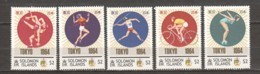 Solomon Islands - MNH Set SUMMER OLYMPICS TOKYO 1964 - Zomer 1964: Tokyo