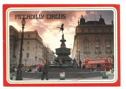 Inghilterra England London Piccadilly Circus Viaggiata 1999 Condizioni Come Da Scansione - Piccadilly Circus