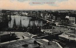 """Dunkerque Vue Générale Du Port ( écluse Du Minck """"la Belle Inutile"""" , Bassin Du Commerce  Bateaux , Bateau Phare - Dunkerque"""