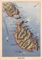 """1180 """"MALTA - CARTOLINA POSTALE FORZE ARMATE - DAL REPARTO GRANATIERI AL PODESTA' DI TORINO""""  CART   SPED 1919 - Malta"""