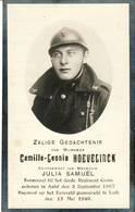 "Aalst - Slagveld Luik  "" Oorlog Gesneuvelde - 1907 -1940- Camille Hoevelinck - Devotion Images"