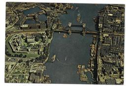 Inghilterra England London The Tower Of London And Tower Bridge Non Viaggiata Condizioni Come Da Scansione - Tower Of London