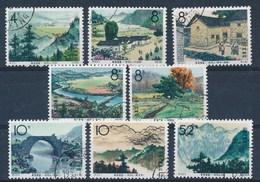CHINA - S.G. 2251/2258 - Gest./obl. - Cote 14,00 GBP - Oblitérés