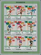 1981Penrhyn Island246-254/B331982 World Championship On Football Of Spanien - 1982 – Espagne