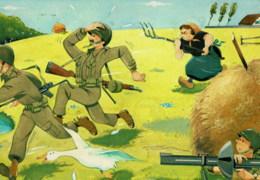 Militair HUMOUR Militaire - Sans Commentaire - Edit. J. Maezelle - Humoristiques