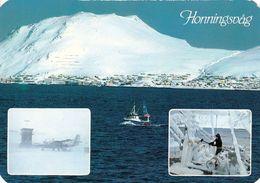 1 AK Norwegen * Ansichten Der Stadt Honningsvåg Auf Der Insel Magerøya (Insel Des Nordkaps) * Auch Mit Airport * - Norway