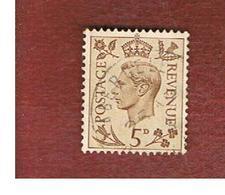GRAN BRETAGNA (UNITED KINGDOM) -  SG 469   - 1938 KING GEORGE VI 5     - USED° - Usati