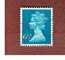GRAN BRETAGNA (UNITED KINGDOM) -  SG X871  -  1974 QUEEN ELIZABETH II  6 1/2  - USED° - 1952-.... (Elisabetta II)