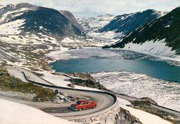 1 AK Norwegen * Blick Auf Die Straße Die Zum Berg Dalsnibba Führt * - Norway
