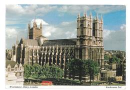 Inghilterra England London Westminster Abbey Viaggiata 1972 Condizioni Come Da Scansione - Westminster Abbey