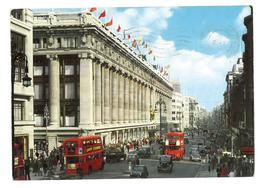 Inghilterra England London Oxford Street Viaggiata 1964 Condizioni Come Da Scansione - London