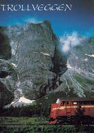 1 AK Norwegen * Die Trollwand (Trollveggen) - Ein Gebirgsmassiv In Norwegen - Bis Zu 1000 Meter Hoch * - Norway